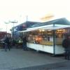 Bilder från Strömmingsvagnen vid Slussen