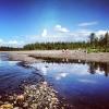 Bilder från Storgrundsviken Kallsjön