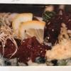 hej alla kära gäster !!! :) Färsk tonfisk med nya hot.tunna roll:) rigtigt smak  välkommen till MIZU sushi