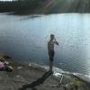 Bilder från Trimsjön