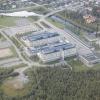 Bilder från Gällivare sjukhus, helikopterlandningsplats