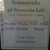 Bilder från Svenssons Kafé