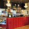 Restaurangens kassa/bar