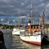 Bilder från Ångbåtscaféet Eduard Melin