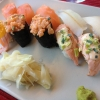 Bilder från Sushi och Te
