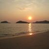 sunset at Koh Mak