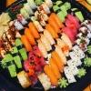 Det blir sushi fest varje dag.