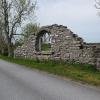 Bilder från Gunfjauns kapellruin