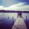 Bilder från Albosjön