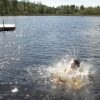 Bilder från Amundebosjön