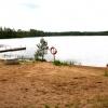 Bilder från Boasjöns badplats