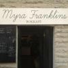 Bilder från Myra Franklins Bokkafé