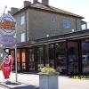 Bilder från Jourpizza och Aquarius Pub