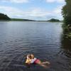 Bilder från Näsuddsbadet, Funbosjön