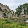 Bilder från Alvastra klosterruin