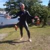Bilder från Grundsunds badplats