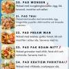 Thaibreak Restaurang Uppsala Takeaway menu
