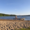 Bilder från Starreds badplats, Gussjön