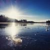 Bilder från Hjortsjöbadet, Helgasjön