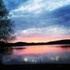 Bilder från Hjoggsjöns badplats