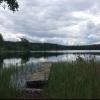 Bilder från Hjulsjö badplats