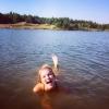 Bilder från Monsjön