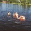 Bilder från Härlövs badplats