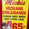 Bilder från Mickis Pizzeria