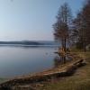 Fin utsikt över ivösjön