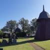 Bilder från Södra Vånga kyrkoruin