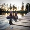 Bilder från Järpås badsjö
