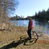 Bilder från Åfors badplats, Kvarndammen