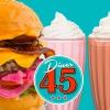 Bilder från Diner 45