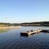 Bilder från Lillsjöns badplats