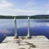 Bilder från Lomsjöns bad