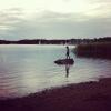 Bilder från Korpaholmarna, Lysingsbadet