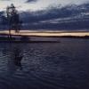 Bilder från Sandviksbadet, Björklinge, Långsjön