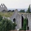 Bilder från Sankt Nicolai kyrkoruin