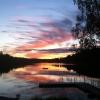 Bilder från Gunnsjöbadet