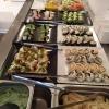 Sushidelen av lunchbuffèn :-)
