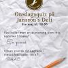 Bilder från Janssons Deli