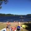 Bilder från Rammsjöns badplats, Dannike