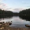 Lugn sjö