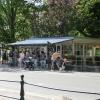 Café Gula Paviljongen i Hjo.