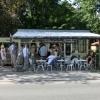 Bilder från Café Gula Paviljongen