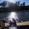 Bilder från Vickans Badplats