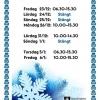 Under jul- och nyårshelgen har vi dagar avvikande öppettider: Fredag 23/12 kl. 06:30-15:30 Lördag 24/12 Stängt Söndag 25/12 Stängt Måndag 26/12 kl. 10:00-15:30  Lördag 31/12 kl. 10:00-14:30 Söndag 1/1 Stängt  Torsdag 5/1 kl. 06:30-15:30 Fredag 6/1 kl. 10:
