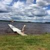 Bilder från Åsarnabadet, Rådasjön