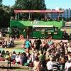 Bilder från Scaniabadplatsen