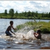 Bilder från Sandön, Sundet i Sjulnäs